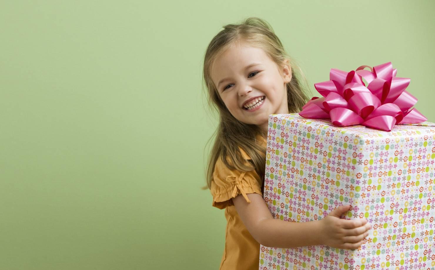 Детские подарки на день рождение картинки
